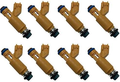 8pcs はジャガーのランドローバーの範囲のローバー 4.2L 4.4L V8 の燃料のインジェクター 2W93-AA のために合います