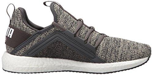 Puma Womens Mega Nrgy Knit Wn Sneaker Kiezel-asfalt-puma Wit