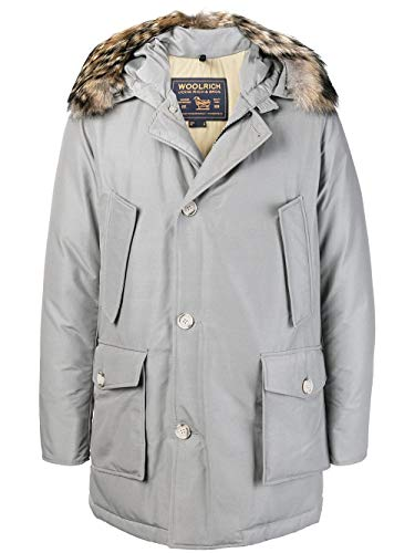 Poliestere Woolrich Wocps1674cn01sgy Cappotto Grigio Uomo OXn7nHrx