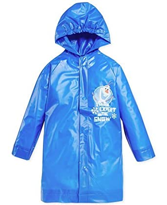 Disney Frozen Boy's Olaf Rain Slicker