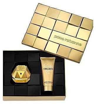 Paco Rabanne Lady Million 80ml Eau de Parfum & 100ml Body Lotion gift set: Amazon.co.uk: Beauty