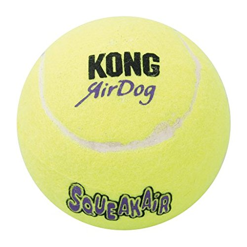 Squeaker Ball in Yellow [Set of 2]