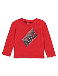 Nike Baby Boys' L/S T-Shirt - university red, 12 months