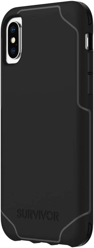 Griffin GIP-008-BLK Survivor Strong Case for Apple iPhone X/XS - Black