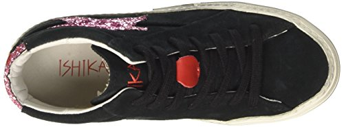Ishikawa Unisex-adult 1267 High-top Zwart