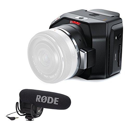 Blackmagic Design Micro Cinema Camera Body Only Micro Four Thirds Lens Mount, 13 Stops Dynamic Range … (Pro Kit)