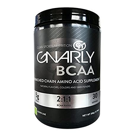 Gnarly Bcaa 100 Natural Lemon Lime 30serv By Gnarly Nutrition