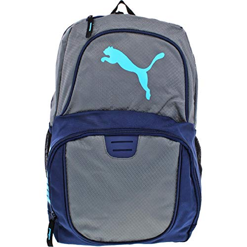Puma Womens Contender Adjustable Laptop Backpack Gray O/S