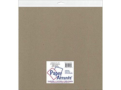 Accent diseño papel Acentos adp1212–2. chip8530,5x 30,5cm extra Heavy Natural aglomerado