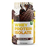 About Time Whey Isolate Protein, Non-GMO, All Natural, Lactose/Gluten Free, 24g of Protein Per Serving (Chocolate – 2 Pounds)