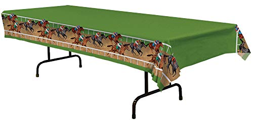 Table Cover Derby Day Theme Party Halloween Decoration ()