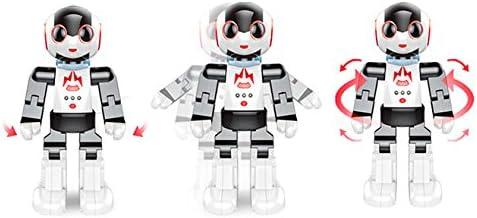 Telecomandato Giochi Elettronici con Telecomando Giocattolo Educativo Robotico per Bambini Radiocomandato RCTecnic Robot Programmabile Intelligente Tongli