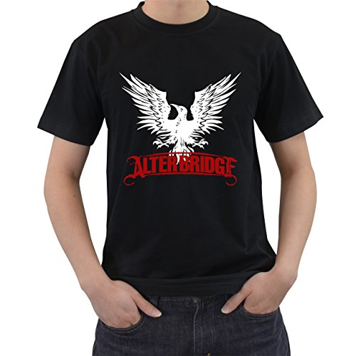 Alter Bridge Rock Band Logo T-Shirt Short Sleeve By Saink Black Size - To A Cut Tank Ways Top