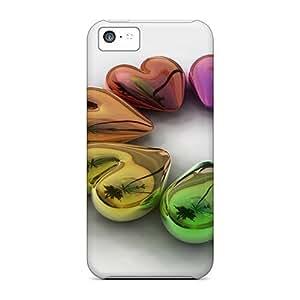 [Gql11035TIlb]premium Phone Cases For Iphone 5c/ Runaround Hearts 3d Tpu Cases Covers