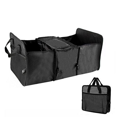 Car Auto Warehouse Multipurpose Foldable Storage Organizer Stuff Holding Black