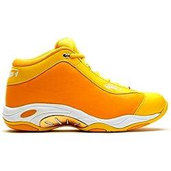 AND1 Mens Tai Chi Basketball Shoe 9.5 Yellow
