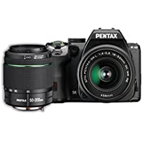 Pentax K-S2 20MP DSLR Two Lens Kit w/ 18-50mm WR & 50-200mm WR (Black)