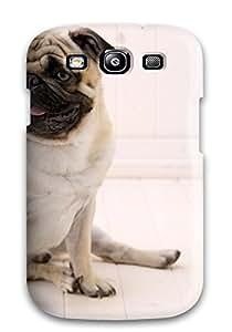 High Impact Dirt/shock Proof Case Cover For Galaxy S3 (sitting Pug) wangjiang maoyi