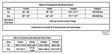 Mens Buzz Lightyear Toy Story Halloween Costume 2XL 44-46