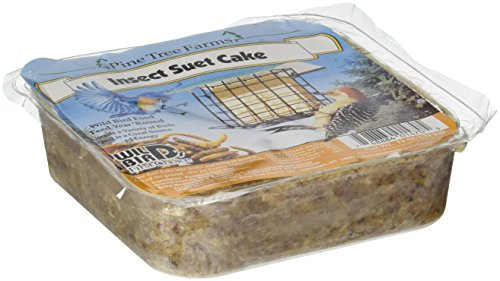 Pine Tree Farms 1470 Insect Suet Cake, 12 Ounce by Pine Tree Farms