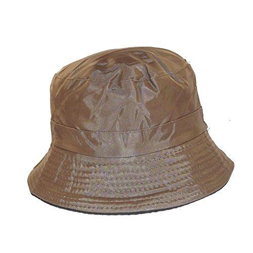 Chapeau-tendance - Bob de pluie marron - - Femme