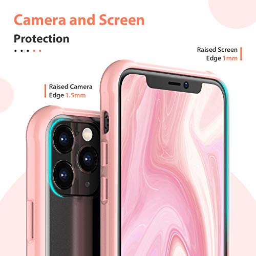 ORIbox Case Compatible with iPhone 11 pro Case, Translucent Matte case with Soft Edges, Lightweight