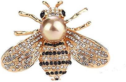 HSQYJ Brooches Crystal Insect Fashion product image