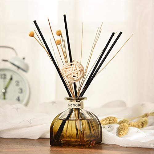 - Yu2d  Reed Oil Diffusers with Natural Sticks, Glass Bottle and Scented Oil 35ML(Multicolor I)