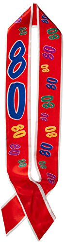 80 Satin Sash Party Accessory (1 count) (1/Pkg)