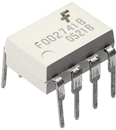 5 pieces High Speed Optocouplers DIP-8 DUAL HS PH TRN