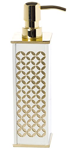 Wood Elkay Accessories (Diamond Lattice Decorative Soap Dispenser (2.5
