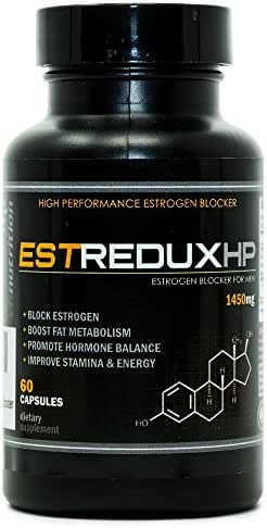 EstreduxHP Estrogen Blocker for Men | Aromatase Inhibitor, Anti Estrogen, and Testosterone Booster