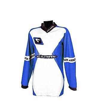 CEMOTO 650106s punto X, azul Yamaha, Talla S: Amazon.es ...