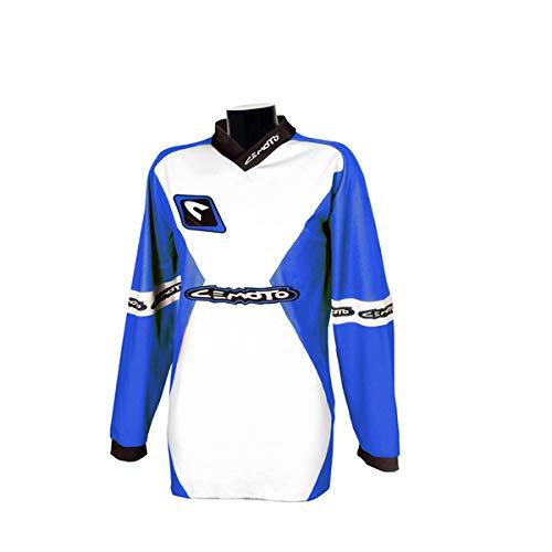 CEMOTO 6501064 X S camiseta X, Color Azul Yamaha, Talla 4 X S: Amazon.es: Coche y moto