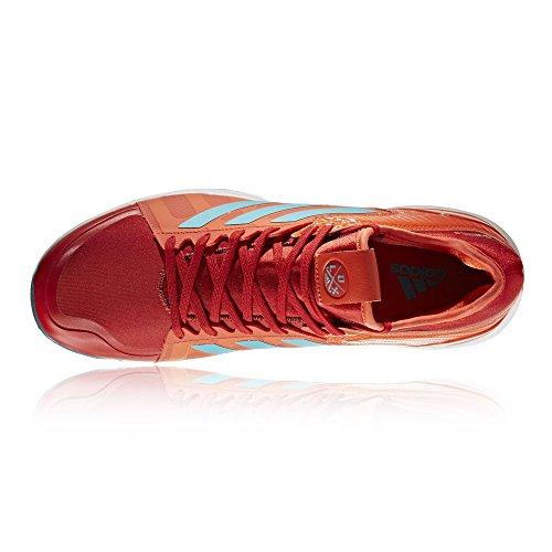 Adidas Hockey Lux Rojo Aqua Zapatillas - AW17 - 44