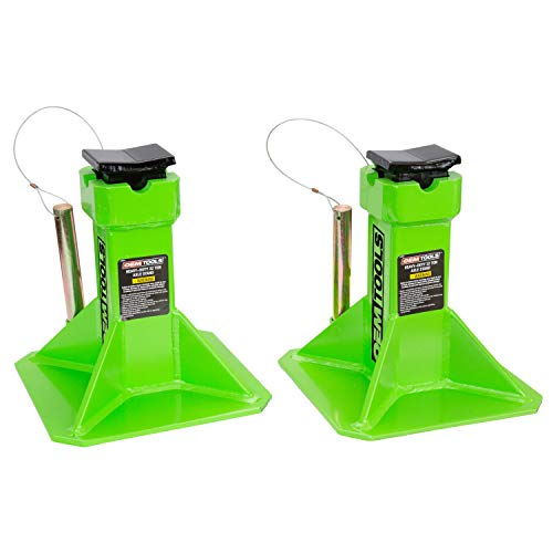 (OEMTOOLS 24854 Heavy Duty 22 Ton Axle Stands)