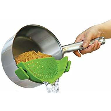 Kitchen Gizmo SNAP'N STRAIN strainer