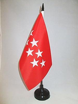 AZ FLAG Bandera de Mesa de la Comunidad DE Madrid 21x14cm ...
