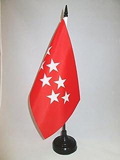 AZ FLAG Bandera de Mesa de CANTABRIA 21x14cm - BANDERINA de ...