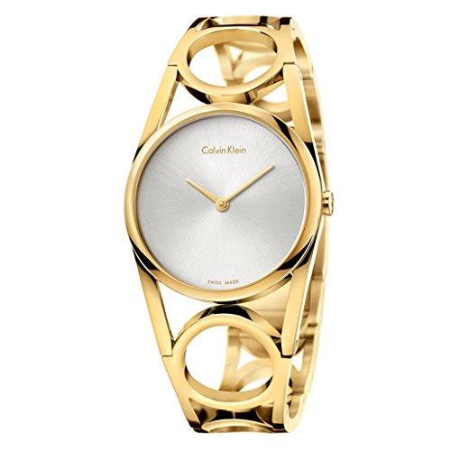 Calvin Klein Round Women's Quartz Watch K5U2S546