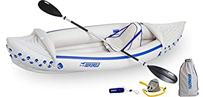 Sea Eagle SE330 Inflatable Sports Kayak Pro Solo Package by Sea Eagle