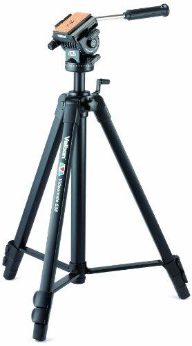 Velbon Videomate-638 Video Dreibein-Stativ (Höhe 171 cm) schwarz