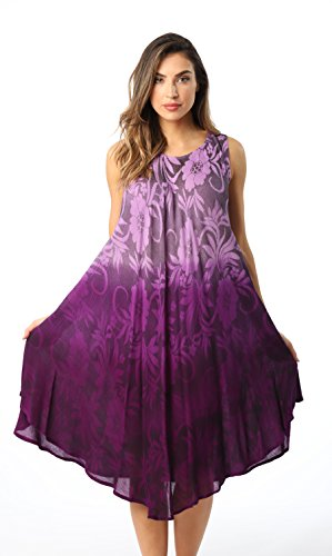 Riviera Sun 21834-PRP-S Umbrella Dress Purple