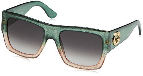 New Gucci Sunglasses Women GG 3817 Green RMQN6 GG3817/S - For Men Gucci New