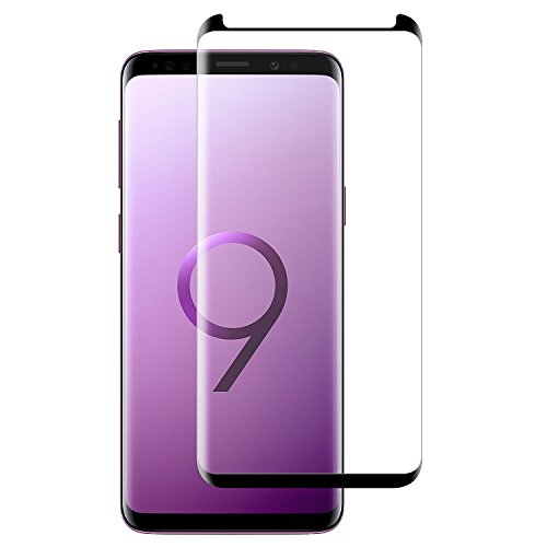 Película de Vidro Curva para Samsung Galaxy S9 Plus, Cell Case, Smarphone Samsung Galaxy S9 Plus 6.2