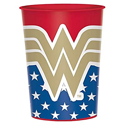 "Wonder Woman Classic"" Party Favor Plastic Cup 16 Oz.: Toys & Games,"""
