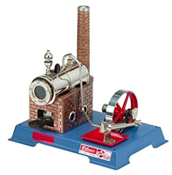 New Au-special: Wilesco D5 Toy Steam Engine Kit See Video Made In Germany