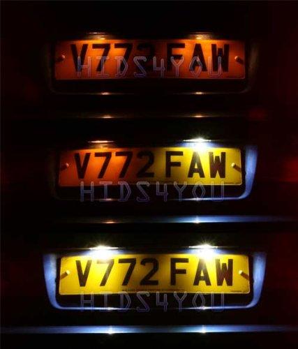 Cx Led Car Number Plate Bulbs Ford Maverick Fiesta Mk Xmm Festoons Amazon Co Uk Car Motorbike