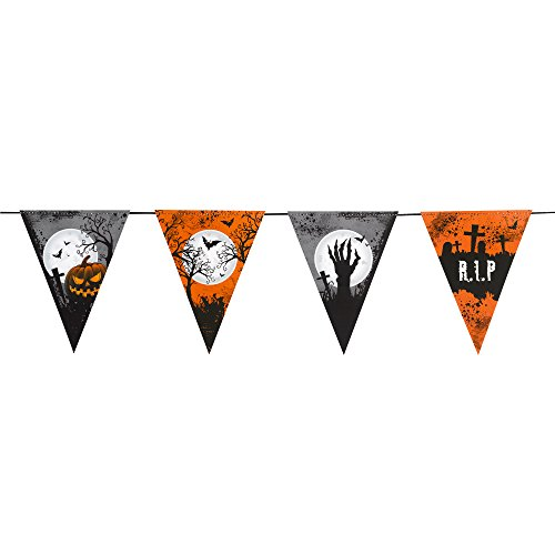 Graveyard Gathering - Bunting 10 Flags ()