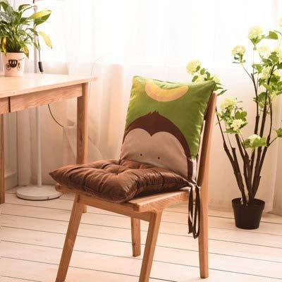 YUMUO Cojin De Silla Transpirable Super Suave,una-Pieza Thicken Seat Cushion Office Chair Pads, Uso Domestico De La Oficina De Coche D 40x80cm(16x31inch)